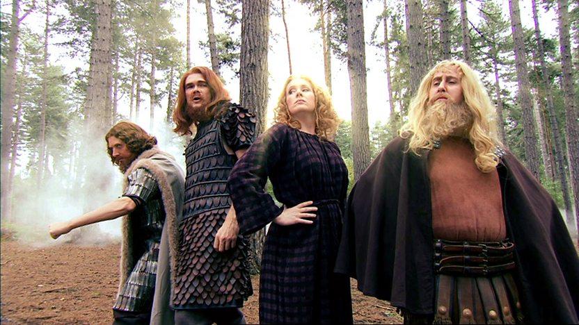 The Saxon gods