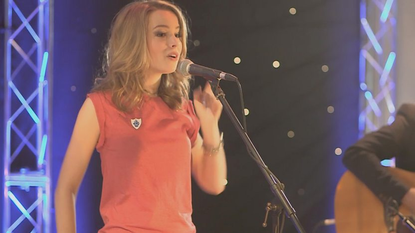 Bridgit Mendler Singing