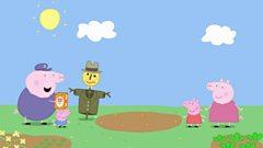 Peppa: Series 2: Am Bodach Feannaig/Mr Scarecrow