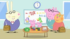 Peppa: Series 2: Oifis Dadaidh Muc/Daddy Pigs Office