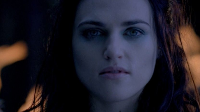 A close up of Morgana