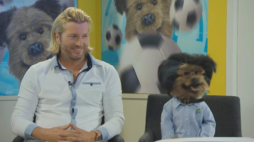 Robbie Savage and Hacker