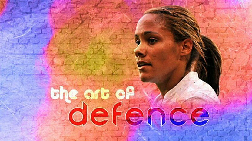 England's star defender Alex Scott
