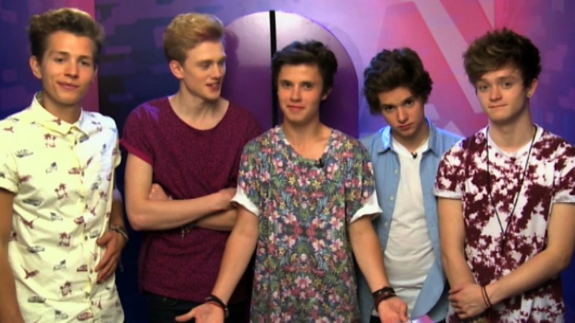 The Vamps with Cel