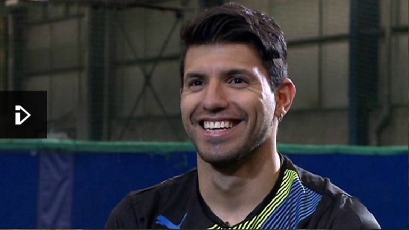 Sergio Aguero interview