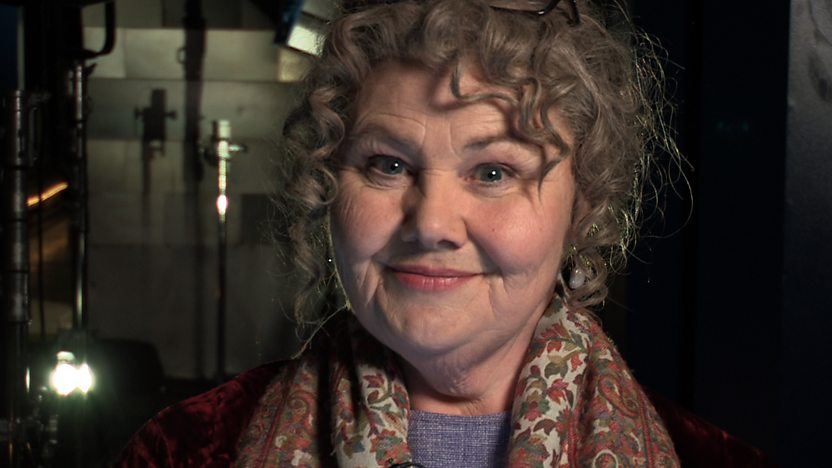 Actor Annette Badland