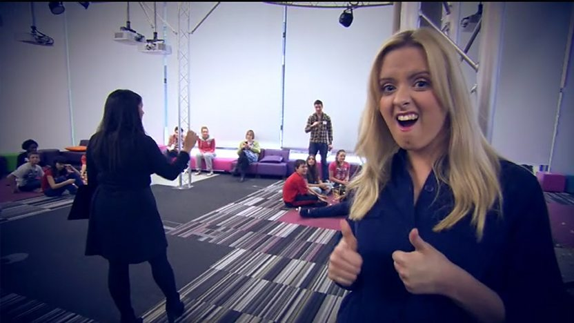 Katie at the Hero Squad auditions