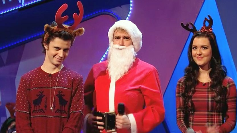 Cel, Santa and Shannon.