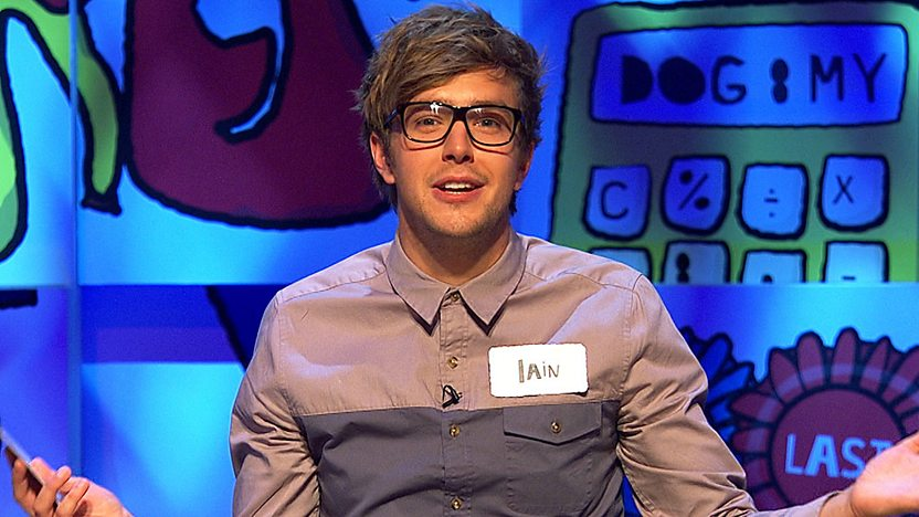 Iain Stirling on The Dog Ate My Homework.