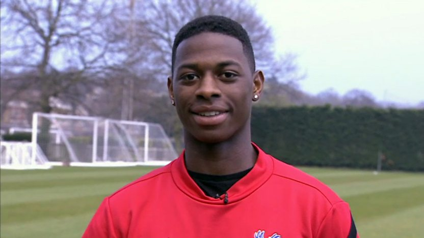Crystal Palace player Sullay KaiKai.