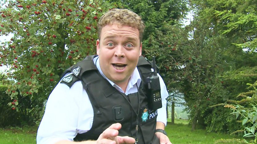 PC Gerry Beddoe from Rocket's Island.