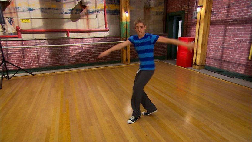 Eldon dancing.