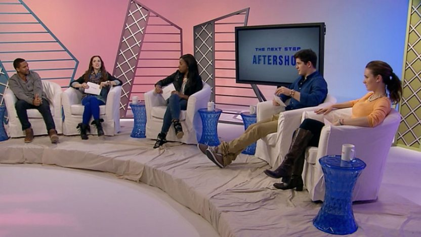 The Aftershow panel.