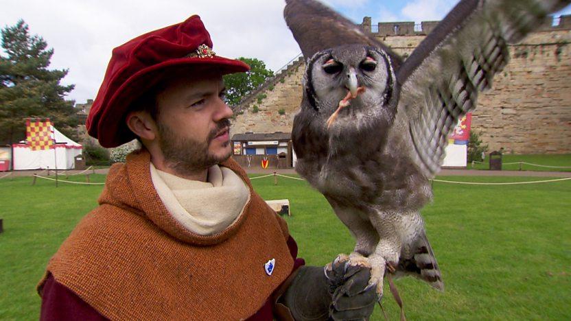 Barney and Owl