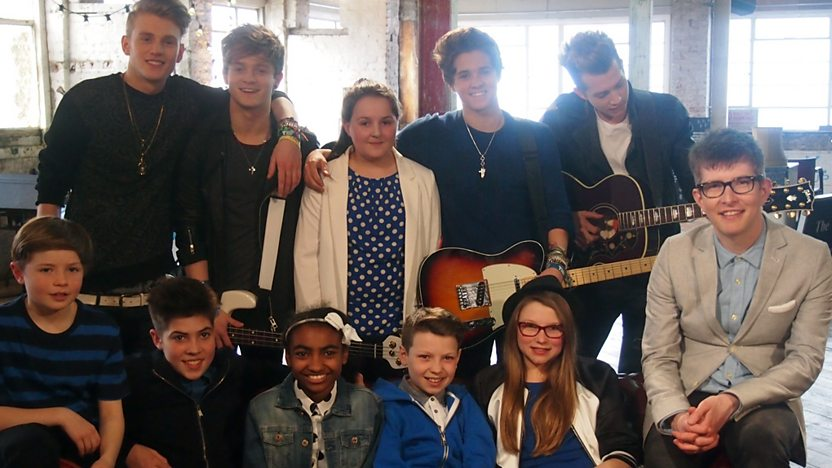 The Vamps with Gareth Malone.