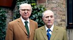 Front Row: Gilbert and George, Jonathan Harvey, Chichester Festival Theatre