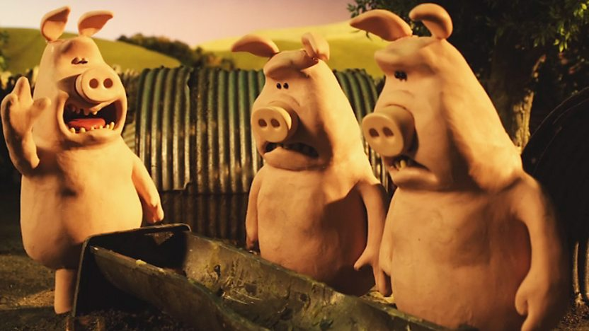 The pigs from Shaun the Sheep.