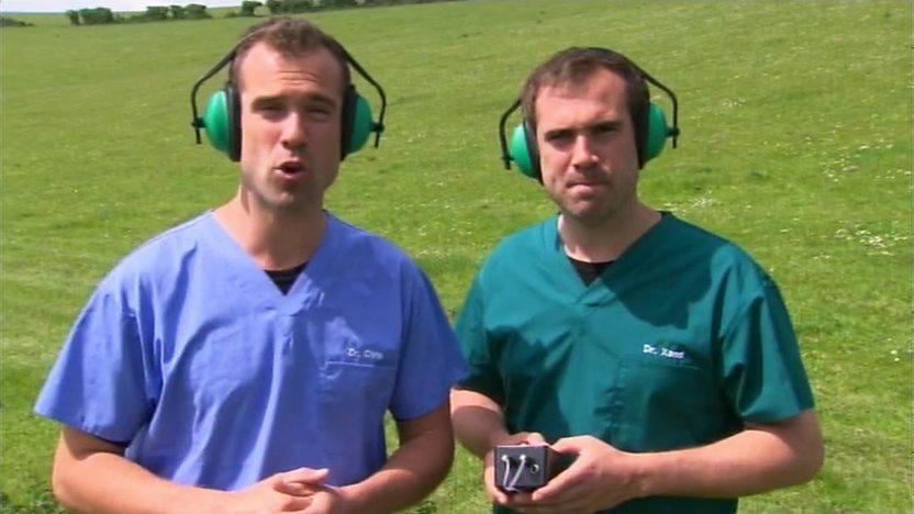 Dr Chris and Dr Xand.