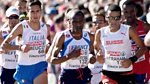 Athletics: European Championships: 2014: Day 6 - Men's Marathon