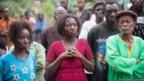 Familia de Finda Marie Kamano. Sylvain Cherkaoui/Cosmos/MSF