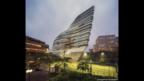 El Jockey Club Innovation Tower, Hong Kong.