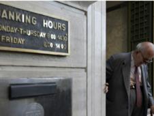 Atina borsası yüzde 16 düşüşle kapandı