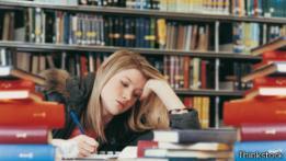 Una estudiante