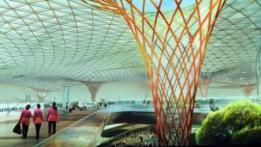 Proyecto del nuevo aeropuerto de Ciudad de México. Foto: Presidencia de México