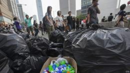 Basura y reciclado en Hong Kong