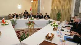Irán y EE.UU. reunidos por Irak