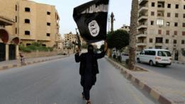 Combatiente de Estado Islámico en Siria