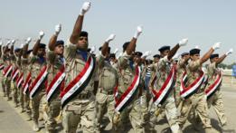 Soldados del ejército de Irak