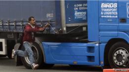 camión en Calais