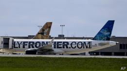 avión de Frontier Airlines