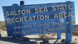 Mar de Salton, California