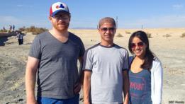 Visitantes del Mar de Salton