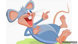 Caricatura de un ratón