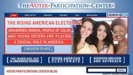 Web de Voter Participation Center
