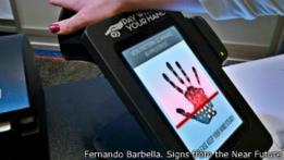 imagen creada por el diseñador argentino Fernando Barbella, parte de su proyecto Signs from the Near Future