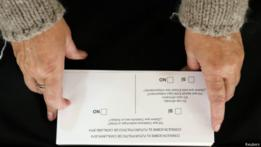 Papeleta de votación