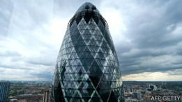 Edificio The Gherkin o El Pepino