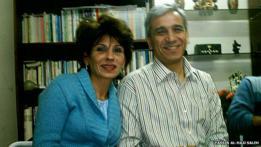 Samira al Khalil y Yassin al Hajj Saleh