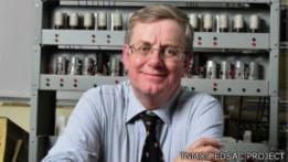 Andrew Herbert, líder del proyecto de construcción de la replica, EDSAC