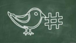 Ilustración de hashtag