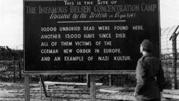 Sitio del campo de concentración de Belsen