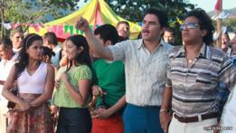 """Escena de la telenovela """"Diomedes, el cacique de la junta"""""""