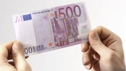 El mayor billete de la divisa de la Unión Europea supone un valor de US$ 542.