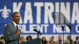 Obama, Katrina