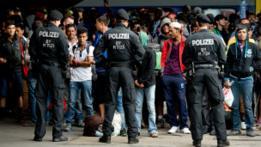 Refugiados llegados a Europa.