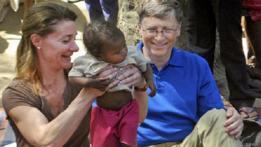Bill Gates con su esposa Melinda